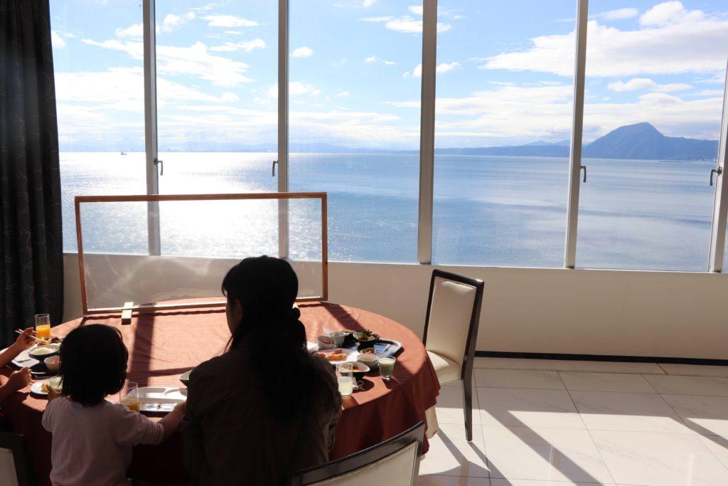 ホテル&リゾーツ 別府湾 -DAIWA ROYAL HOTELから見える海