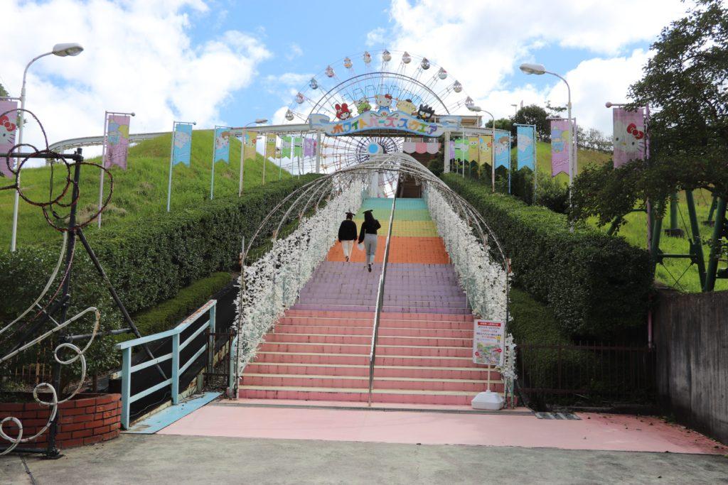 ハーモニーランドの階段
