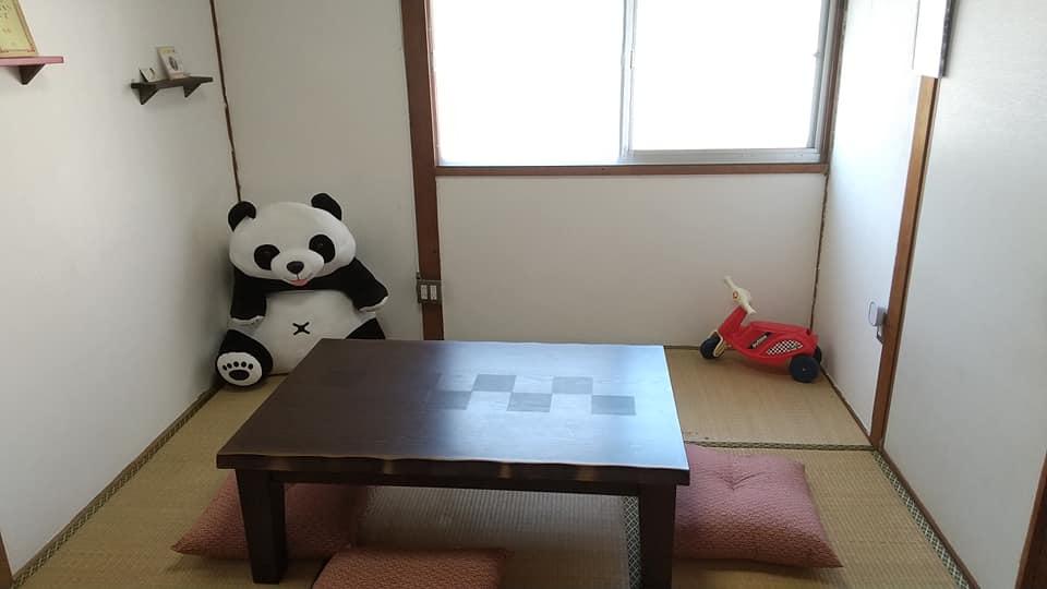 コドモサイズカフェの和室